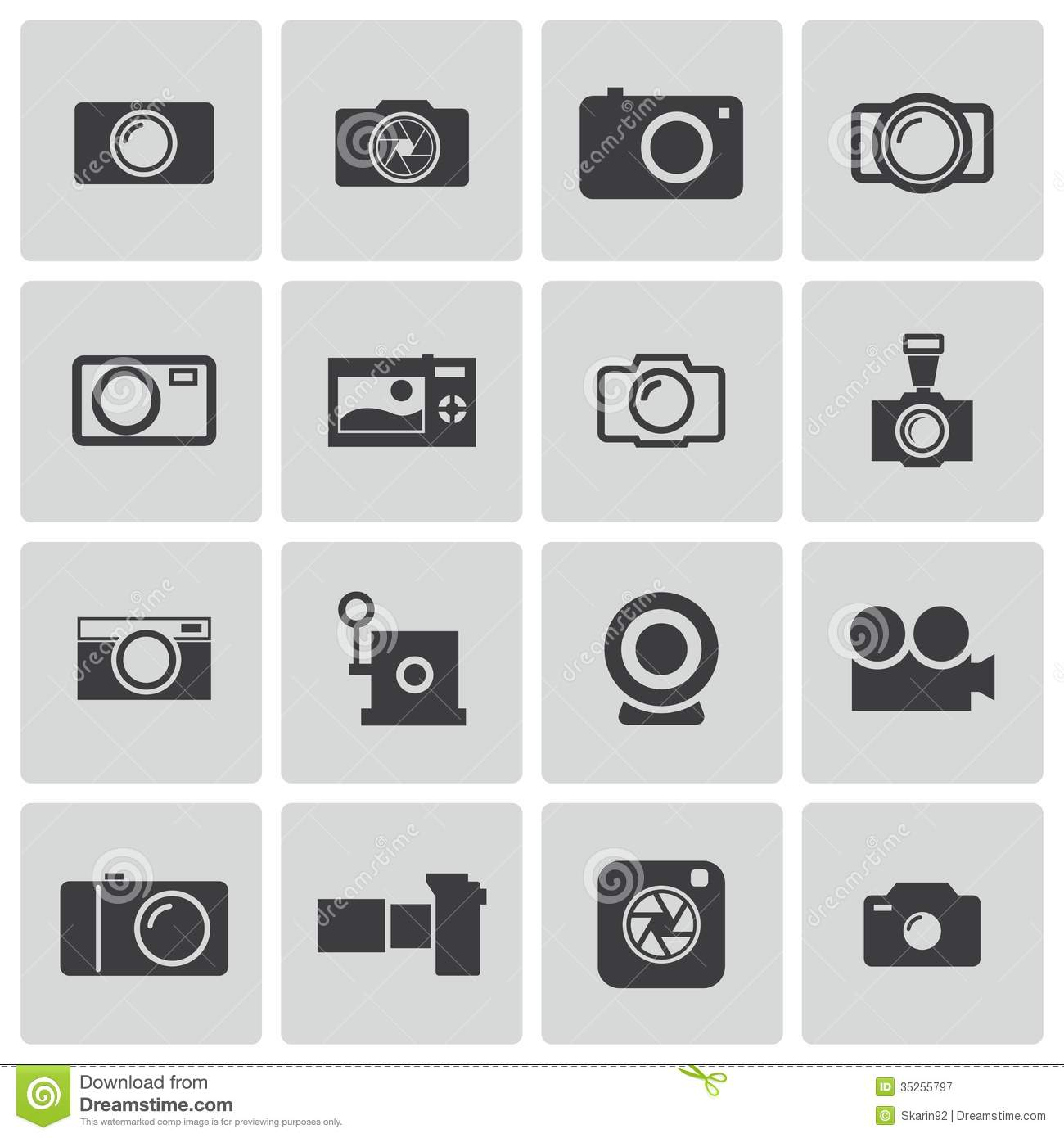 12 Camera Settings Icon Vector Free Images