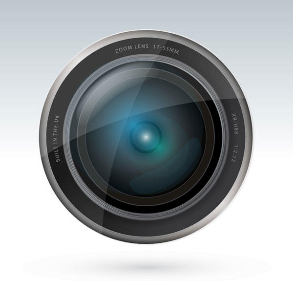 13 Camera Lens Vector Images