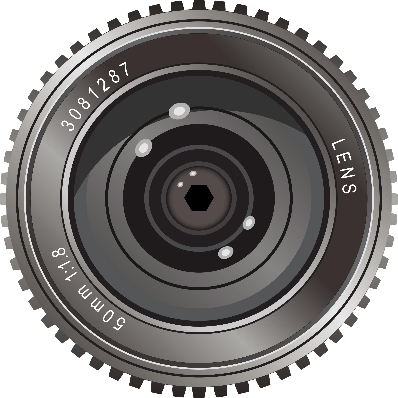 Camera Lens Vector Free