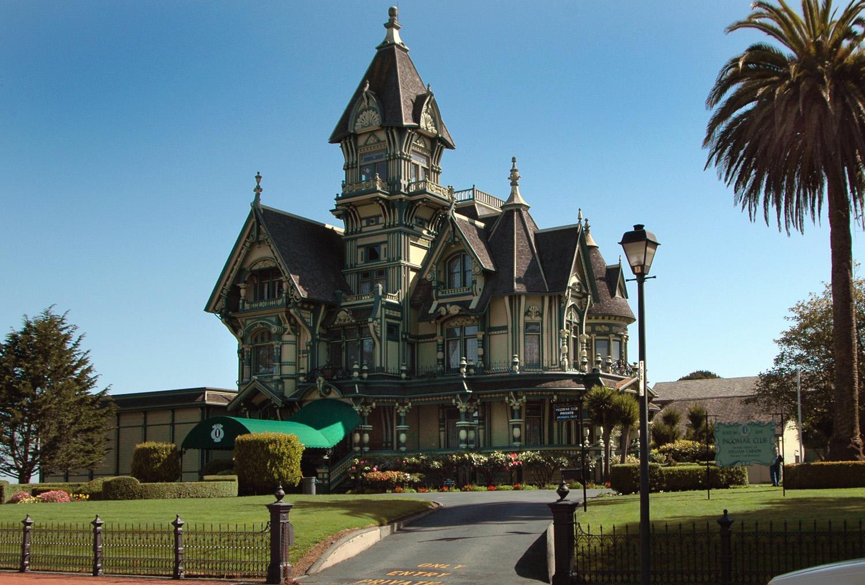Carson Mansion Eureka CA