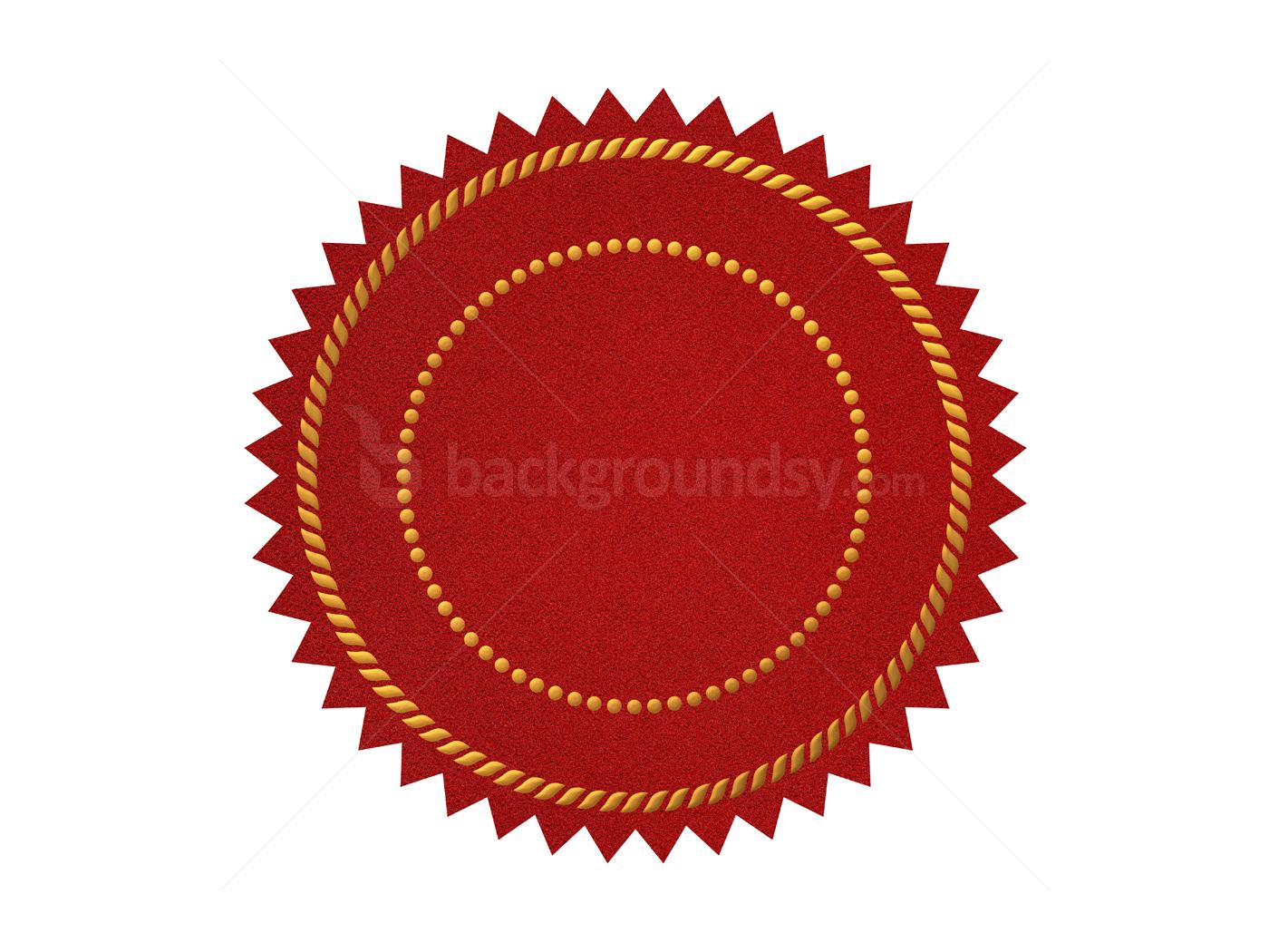 Certificate Seals Template