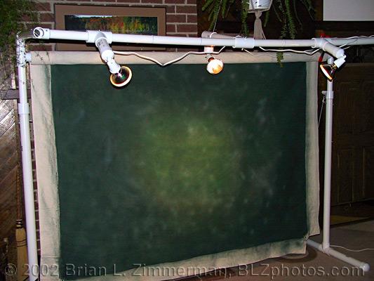 Cheap Homemade Backdrop Stand DIY