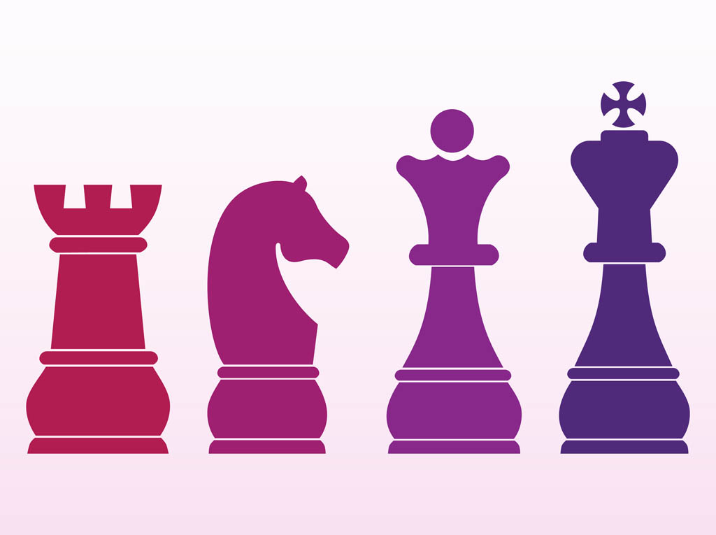 15 Free Vector Chess Pieces Images
