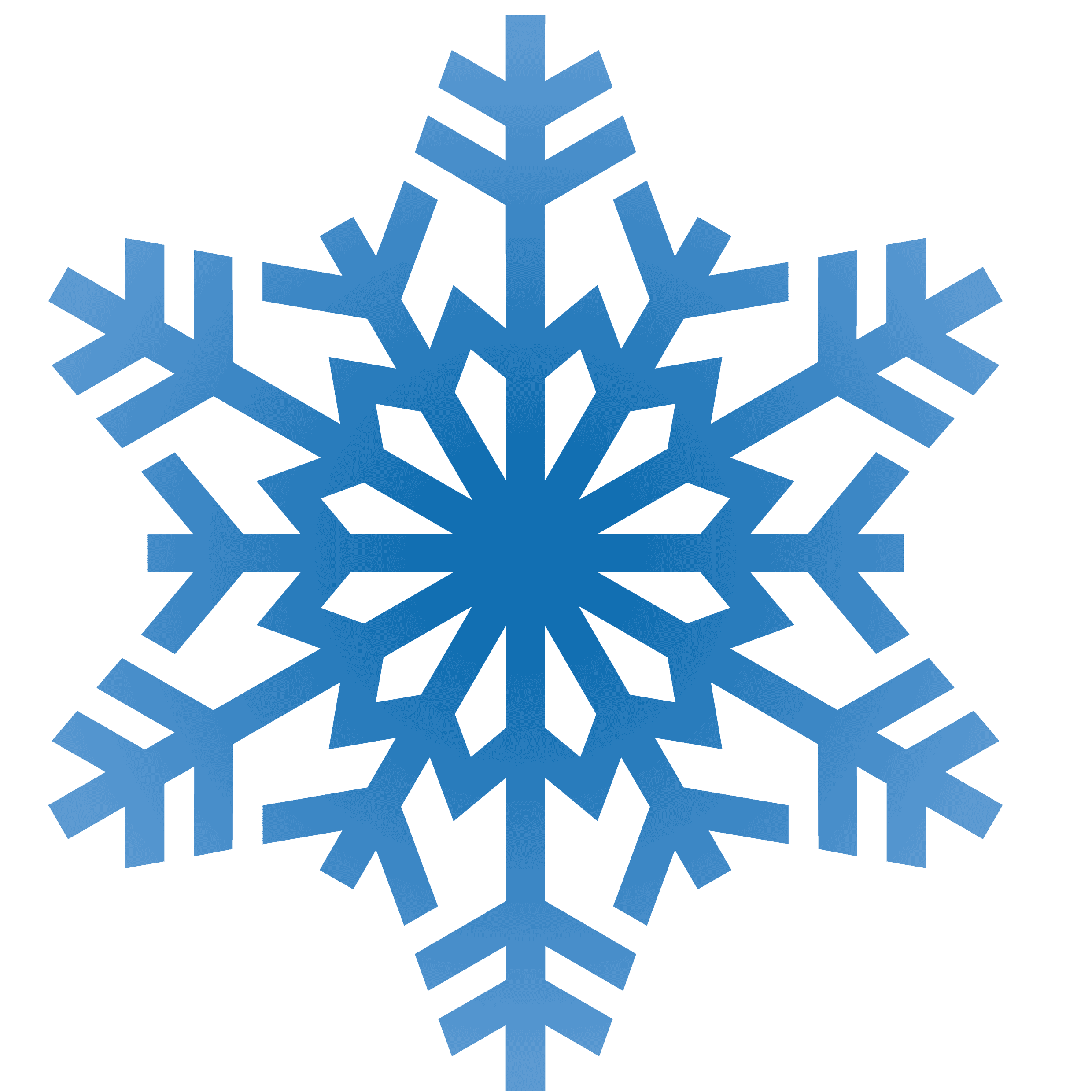 Christmas Snowflake Clip Art Transparent Background