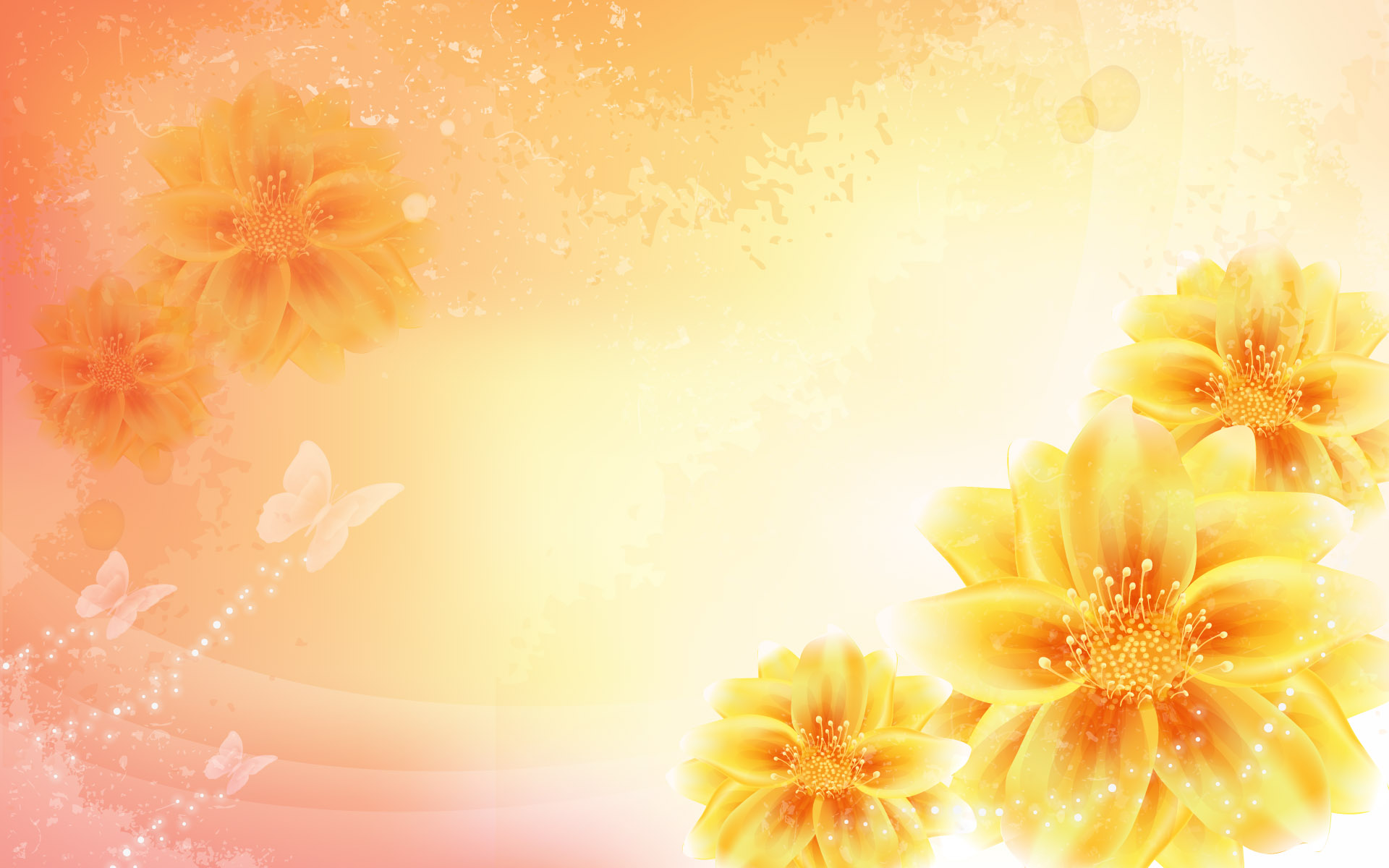 Colorful Flower Backgrounds