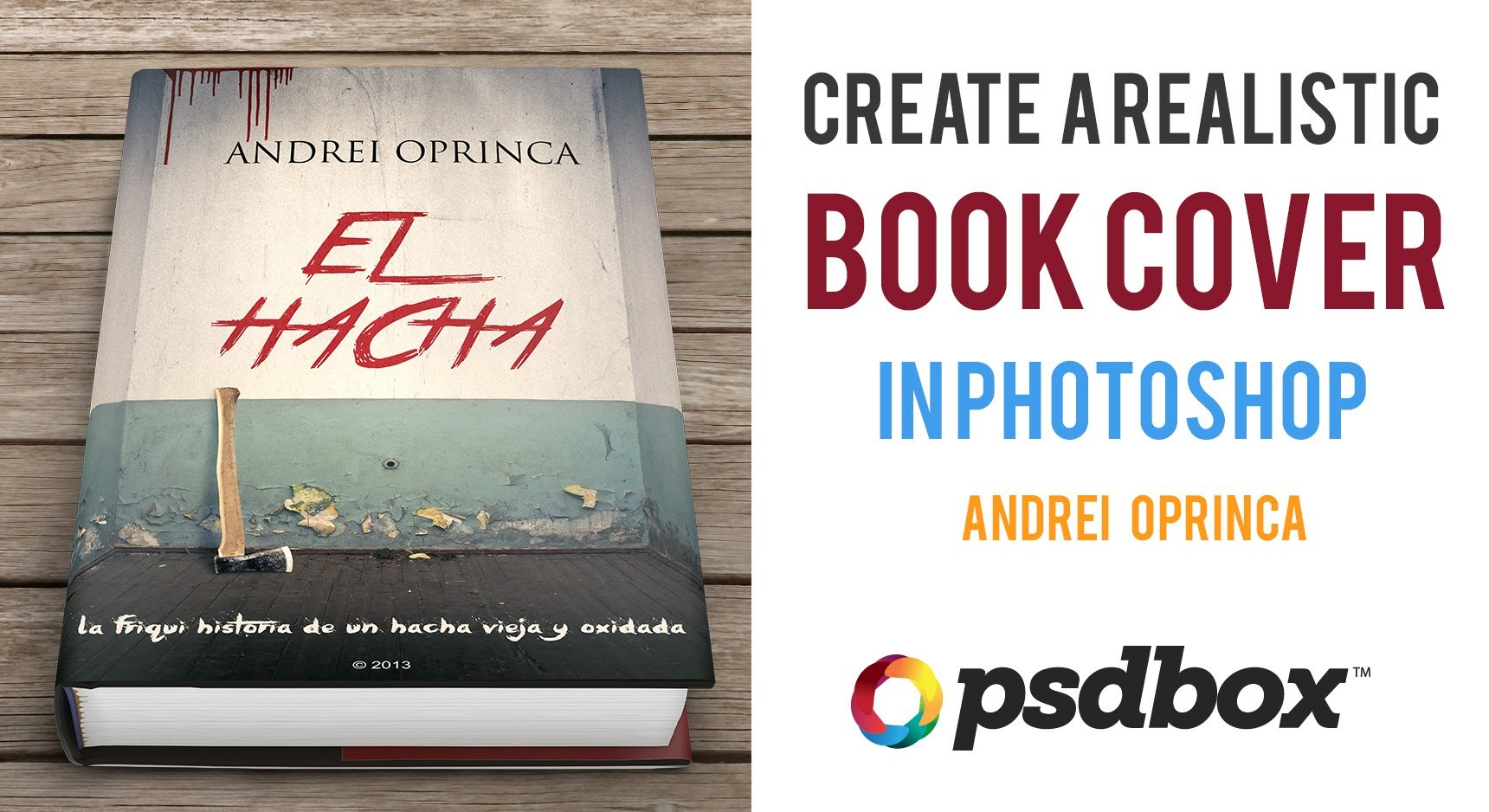 Create Book Cover in Photoshop