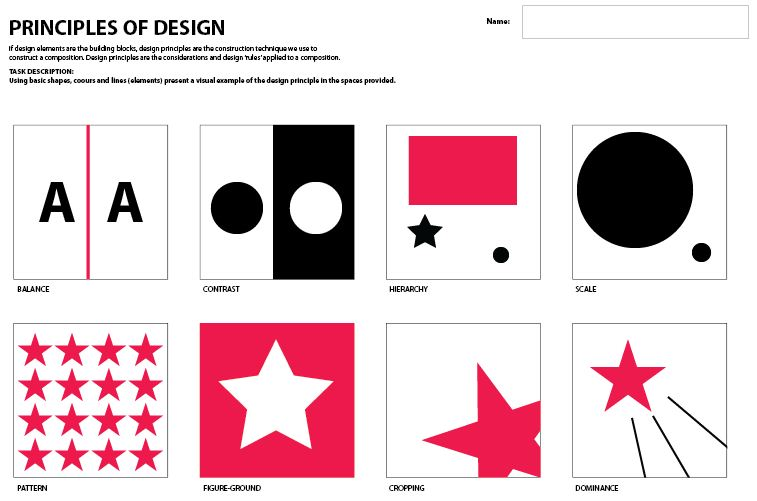 Design And Principles : Examples of principles design images art