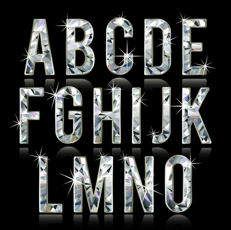 Diamond Letters Font Download