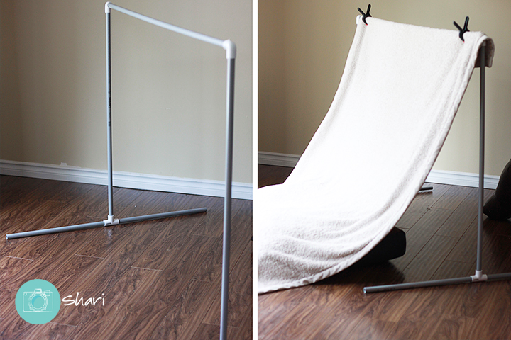 DIY Photography Backdrop Stand