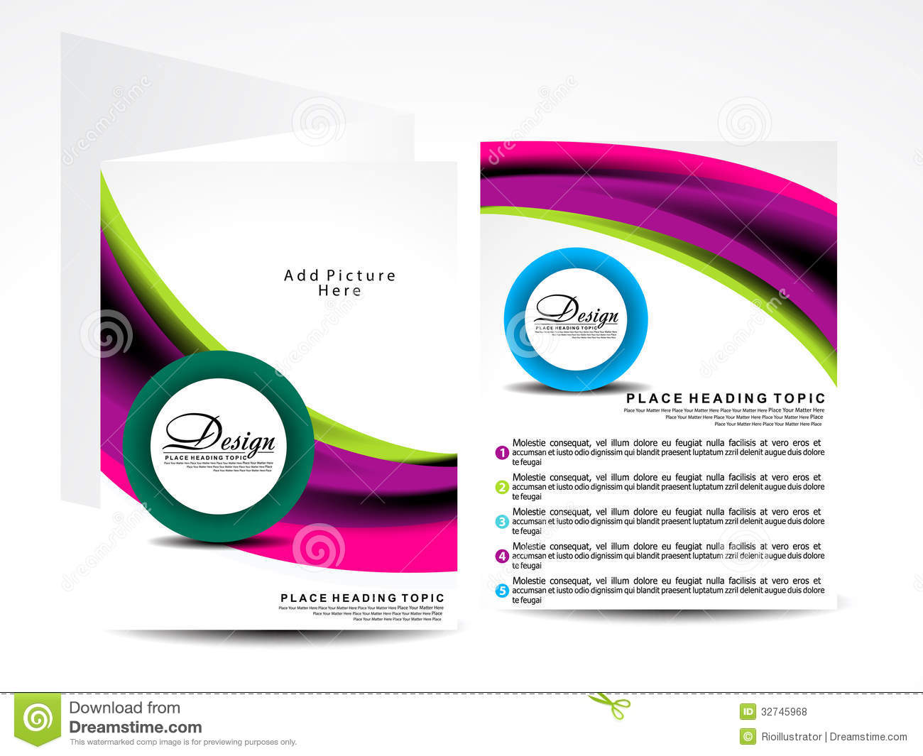 Download Free Vector Brochure Designs