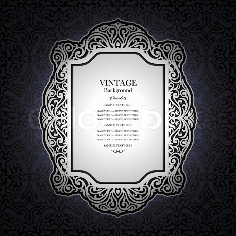 Book Cover Design Elegant : Elegant victorian background designs free images