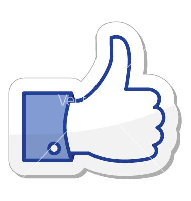 12 Facebook Thumbs Up Vector Images