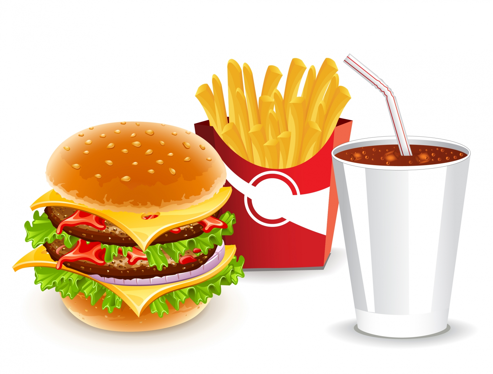 20 Free Cooking Vectors Images Junk Food Clip Art Free
