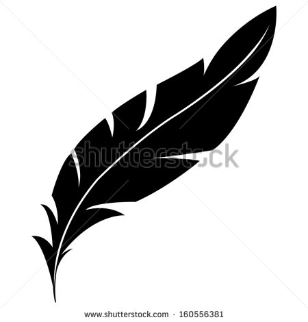 6 Indian Feather Vector Images - Feather Silhouette Clip ...