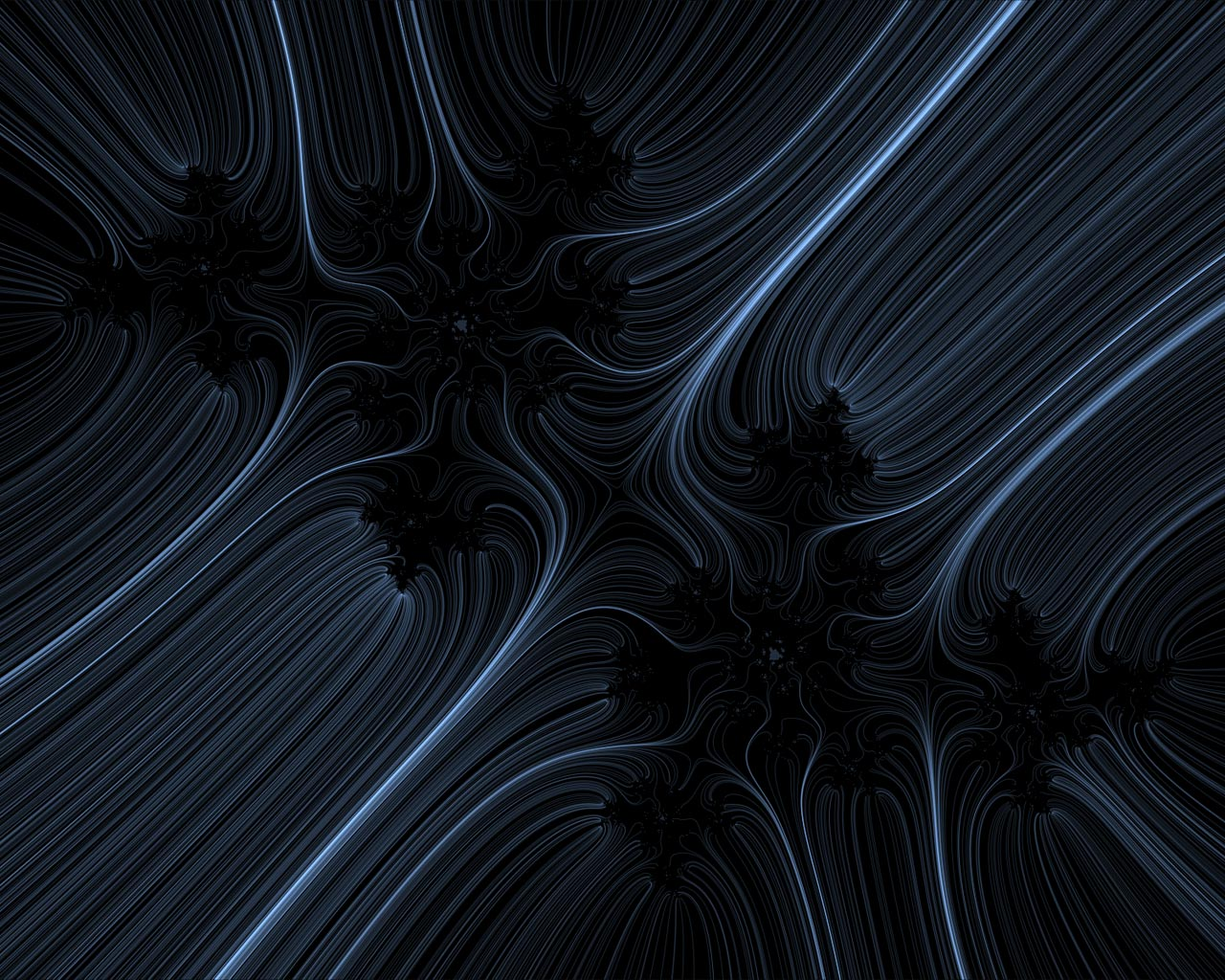 Fractal Black and White Abstract Backgrounds