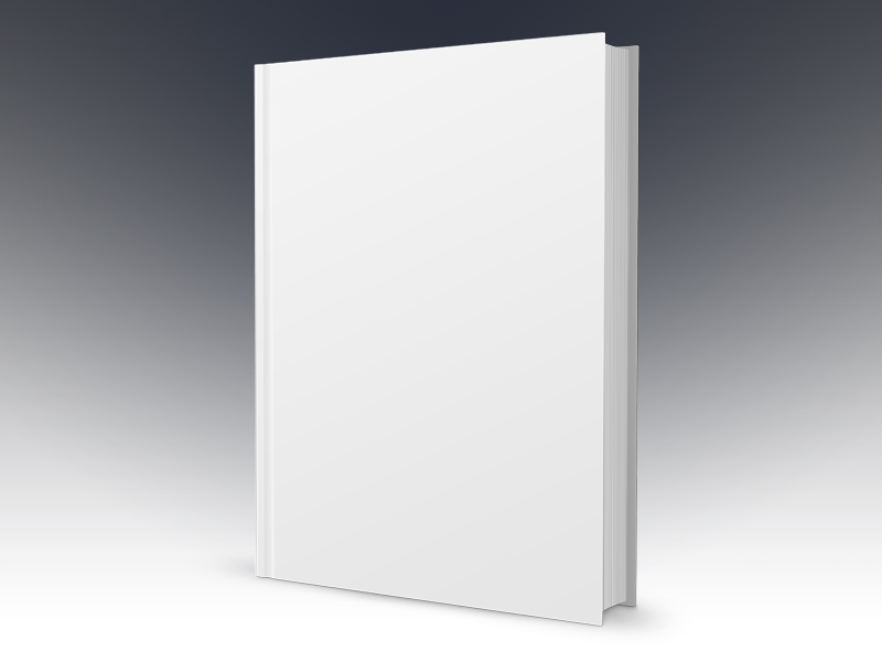 Free Book Cover Template PSD