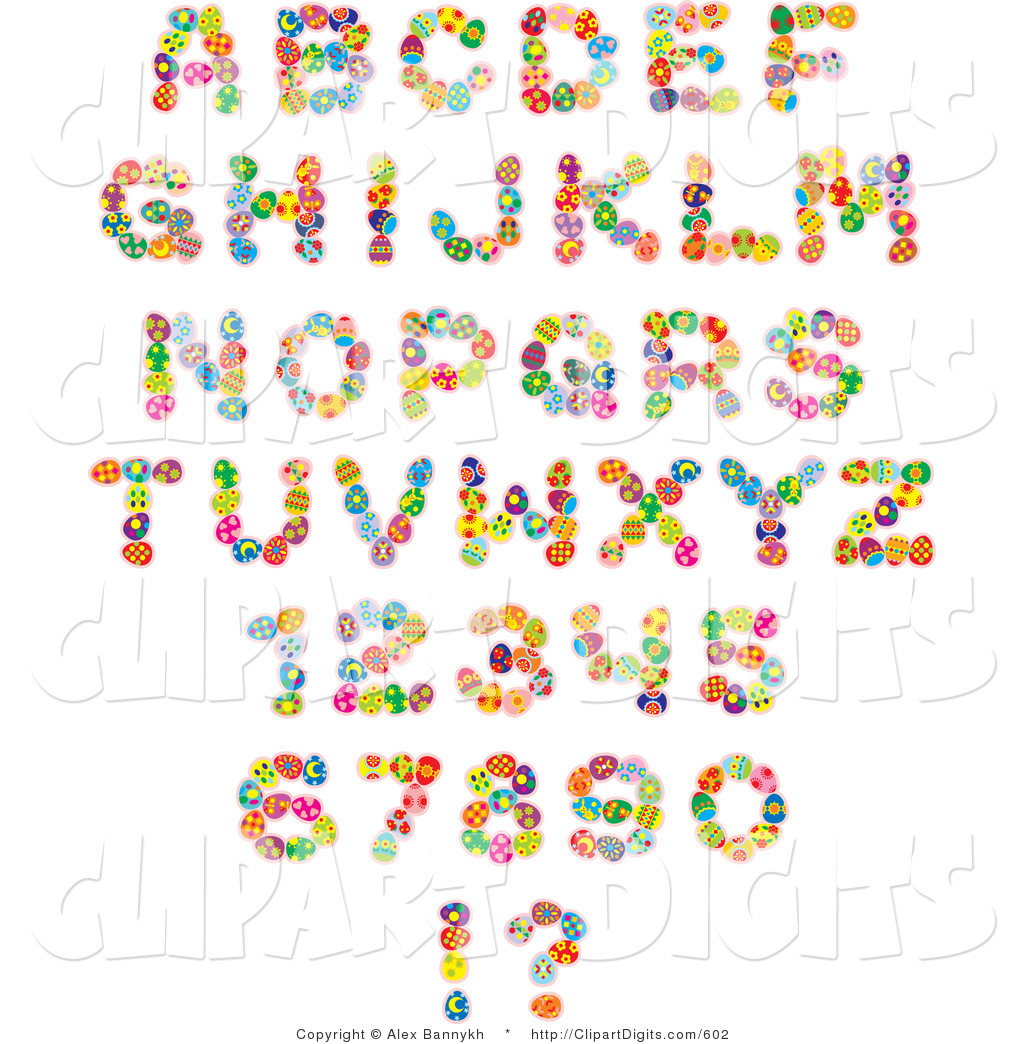Free Clip Art Number Fonts
