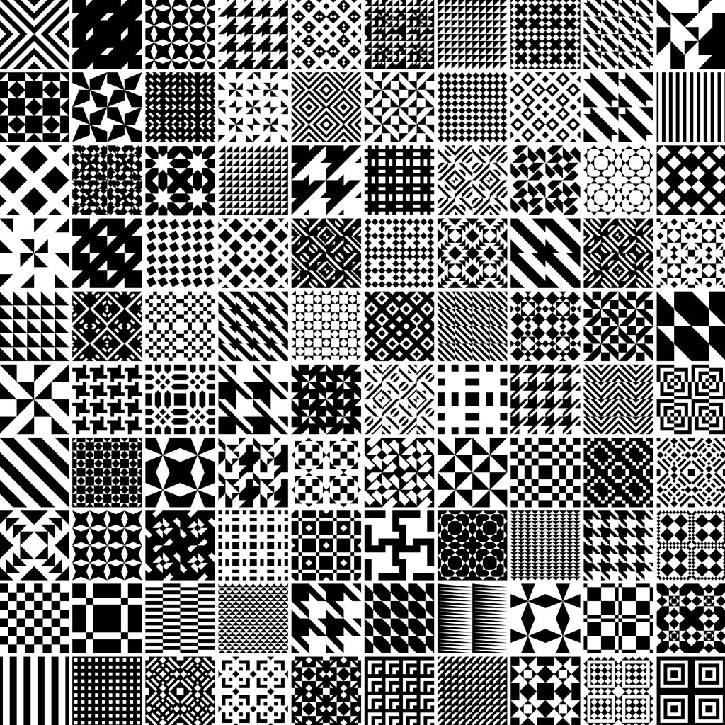 15 Free Vector Patterns Black Images