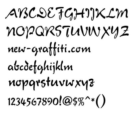 Free Graffiti Font Styles
