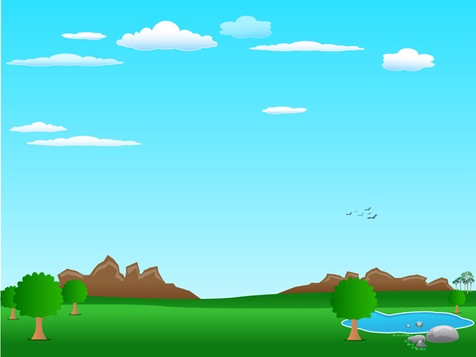 vector cartoon landscape backgroundsfree - photo #1