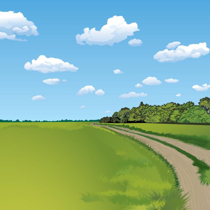 Free Landscape Vectors