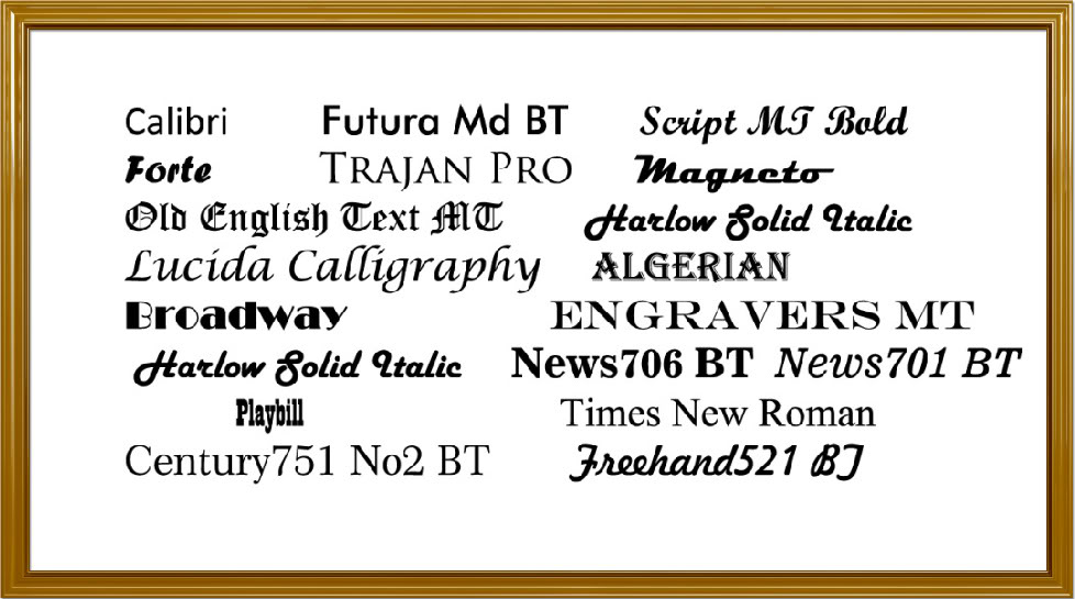 17 Free Fonts For Microsoft Word Images - Free Microsoft Word Fonts