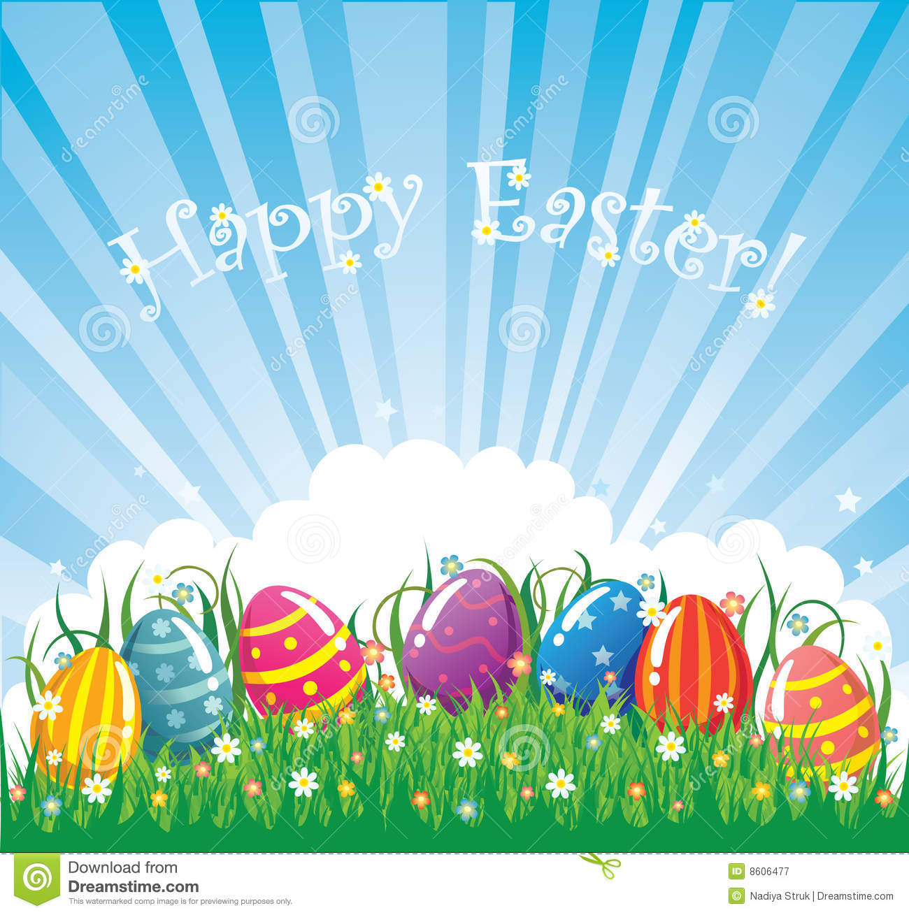 Free Vector Easter Banner