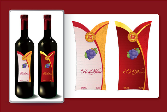 Free Wine Label Graphics