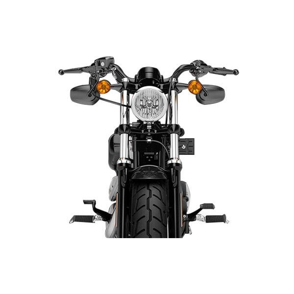Front View of Harley-Davidson Sportster