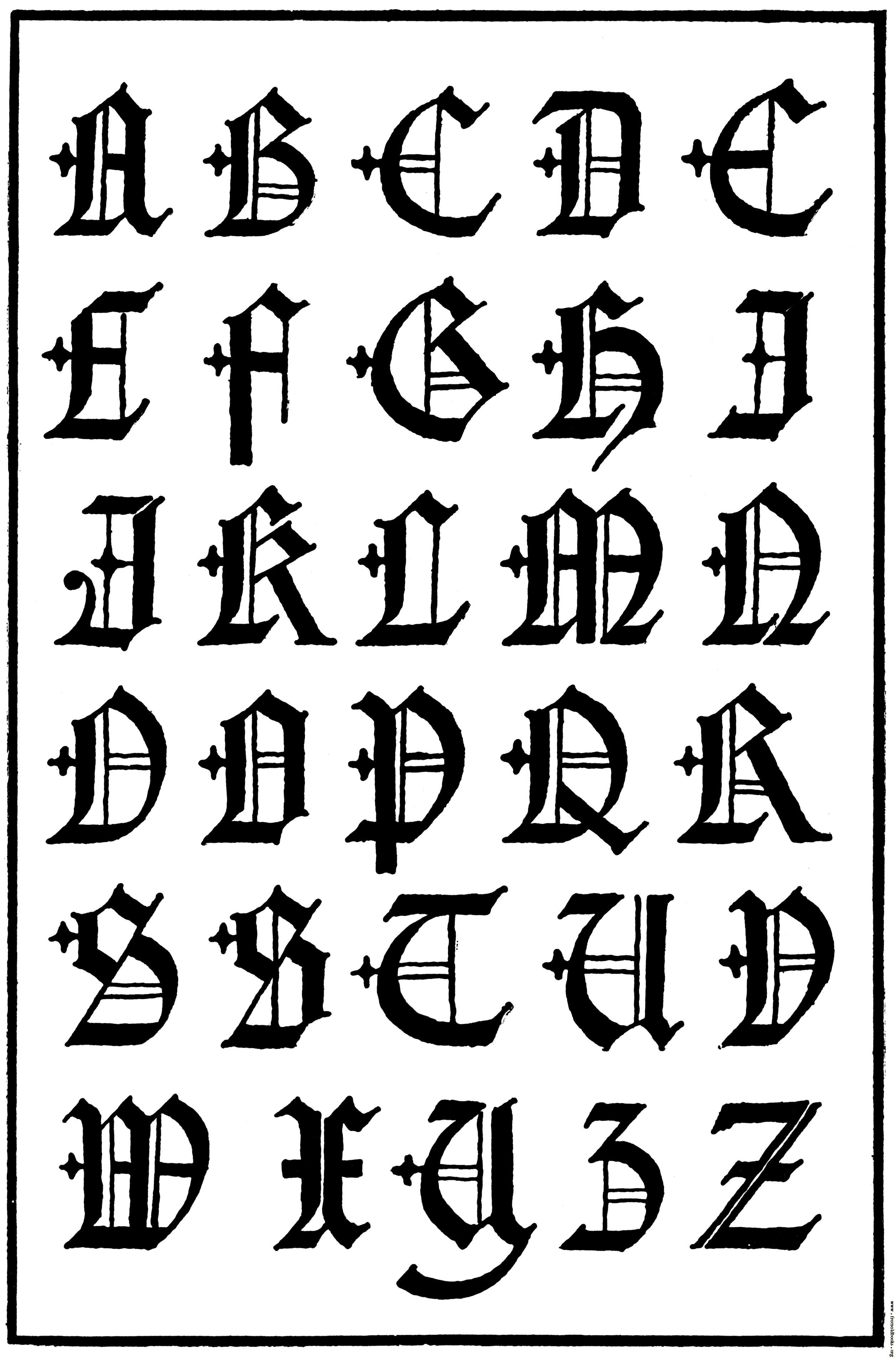 13 16 Century Gothic Letter Fonts Images