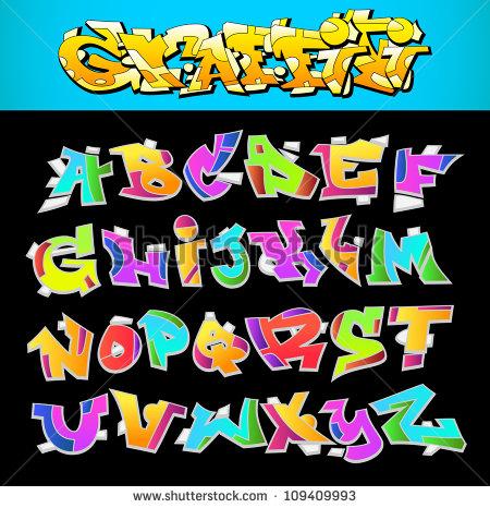 Graffiti Vector Font