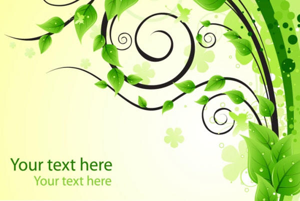 Green Leaf Graphic Design