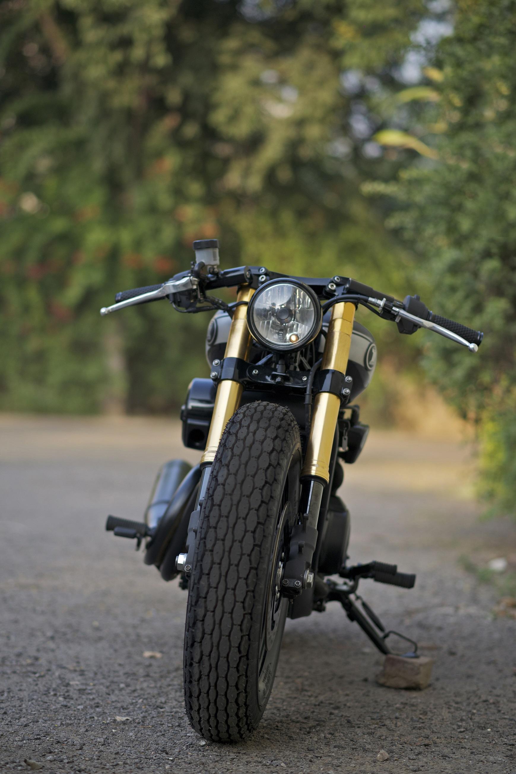 Harley-Davidson 750 Cafe Racer Street