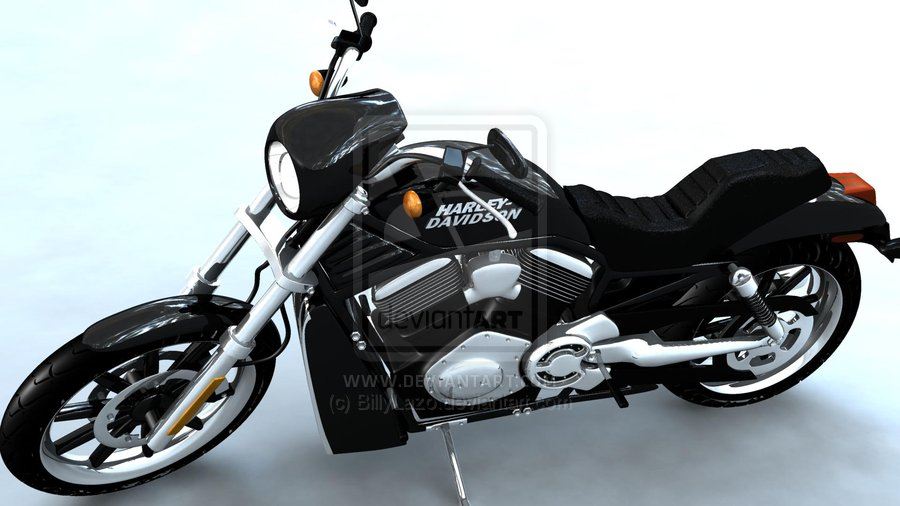 Harley-Davidson Front View