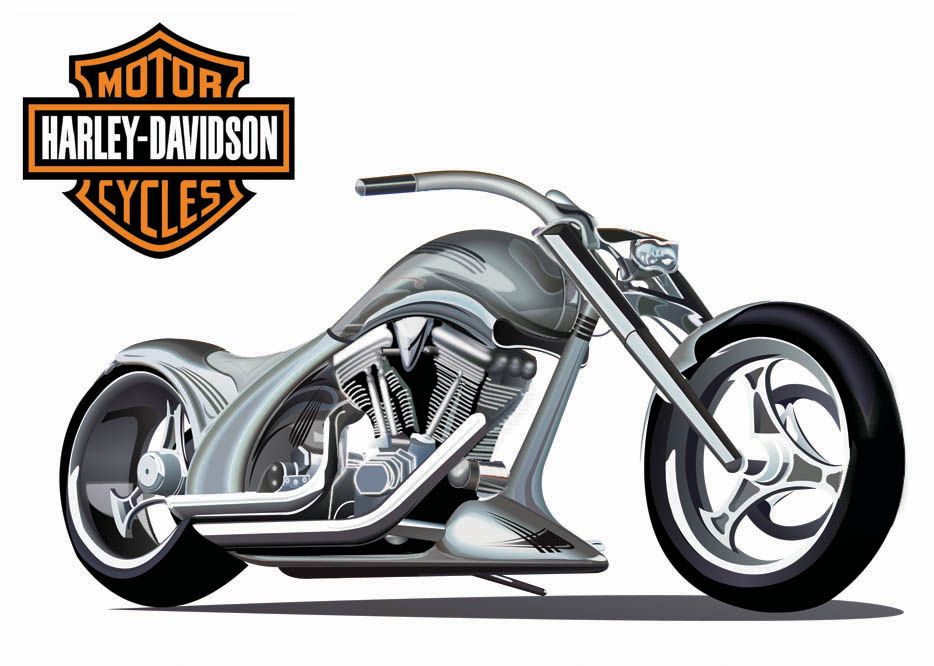 Harley-Davidson Vector Art