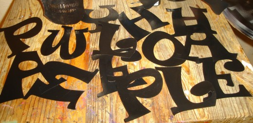 How to Make Big Letter On Poster Boards