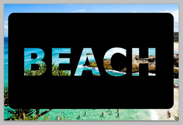 How to Make Text Transparent in Photoshop