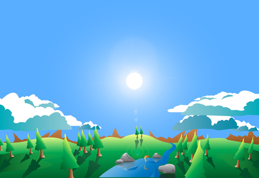 Illustrator Vector Landscapes