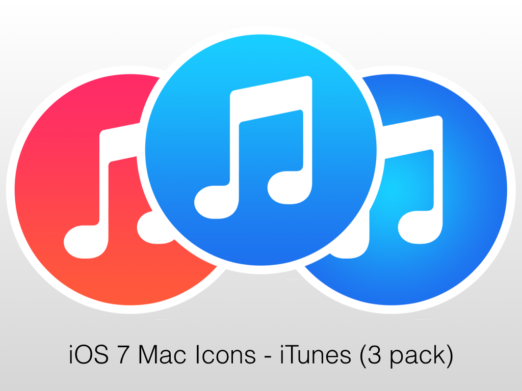 12 ITunes Icon Flat Images - Download iTunes Icon Dock For