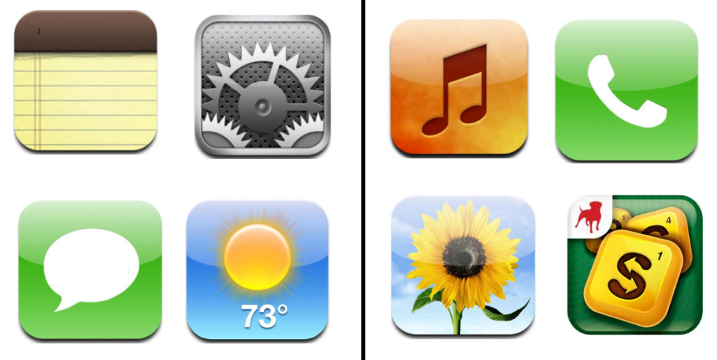 14 printable iphone icons images iphone app icons for Iphone app logo template