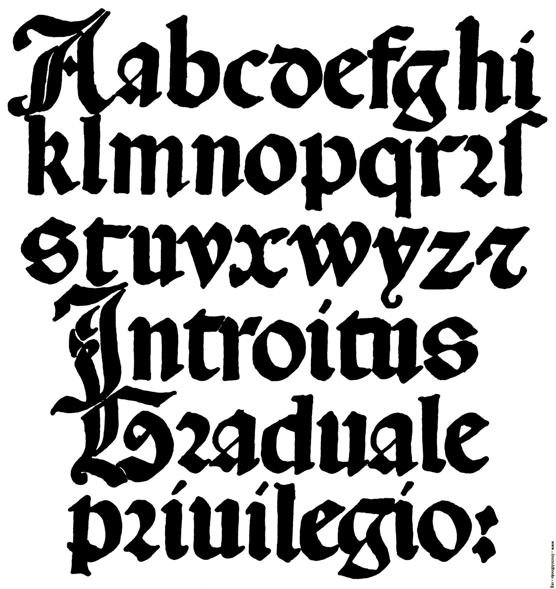 13 16 Century Gothic Letter Fonts Images