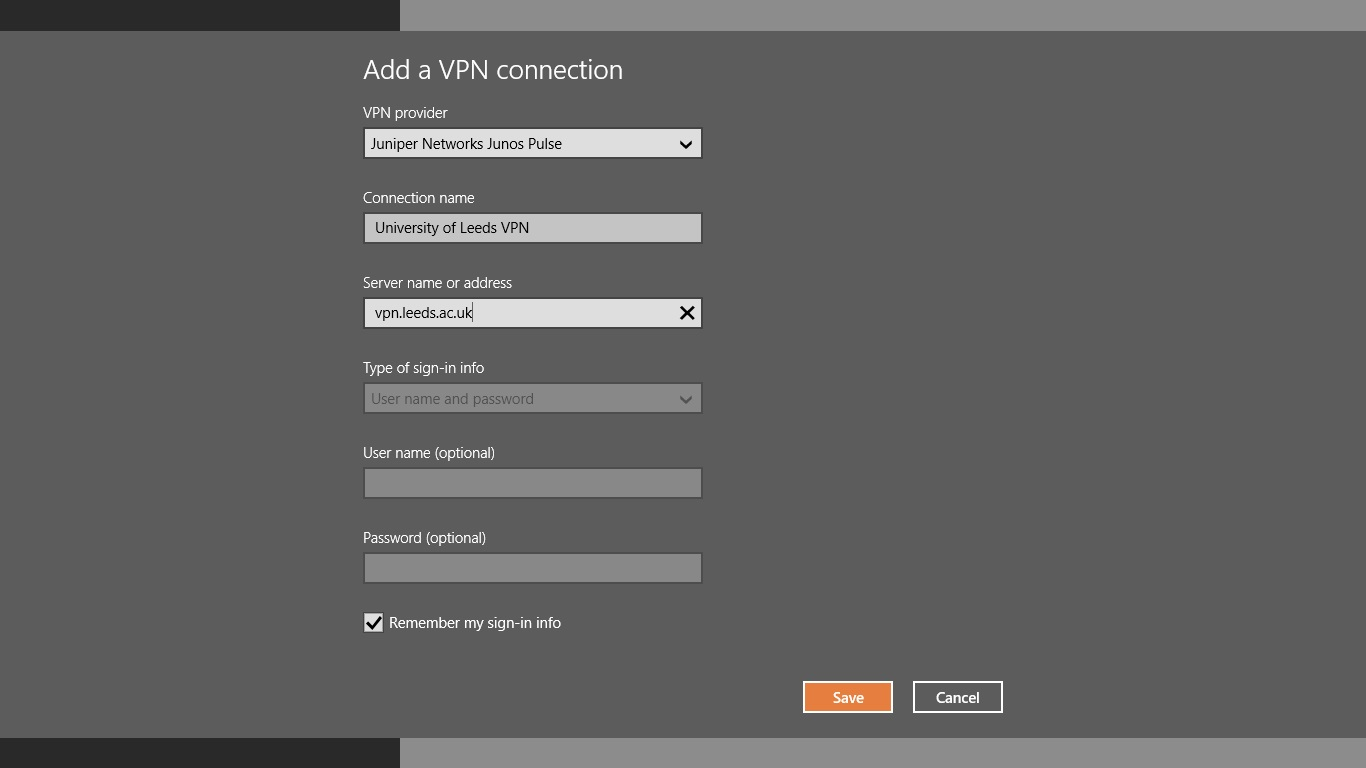 Juniper VPN Windows 8