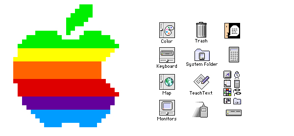 17 Mac System 7 Icons Images