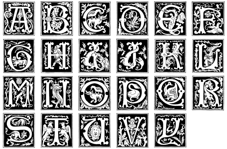 6 16th Century Fonts Images