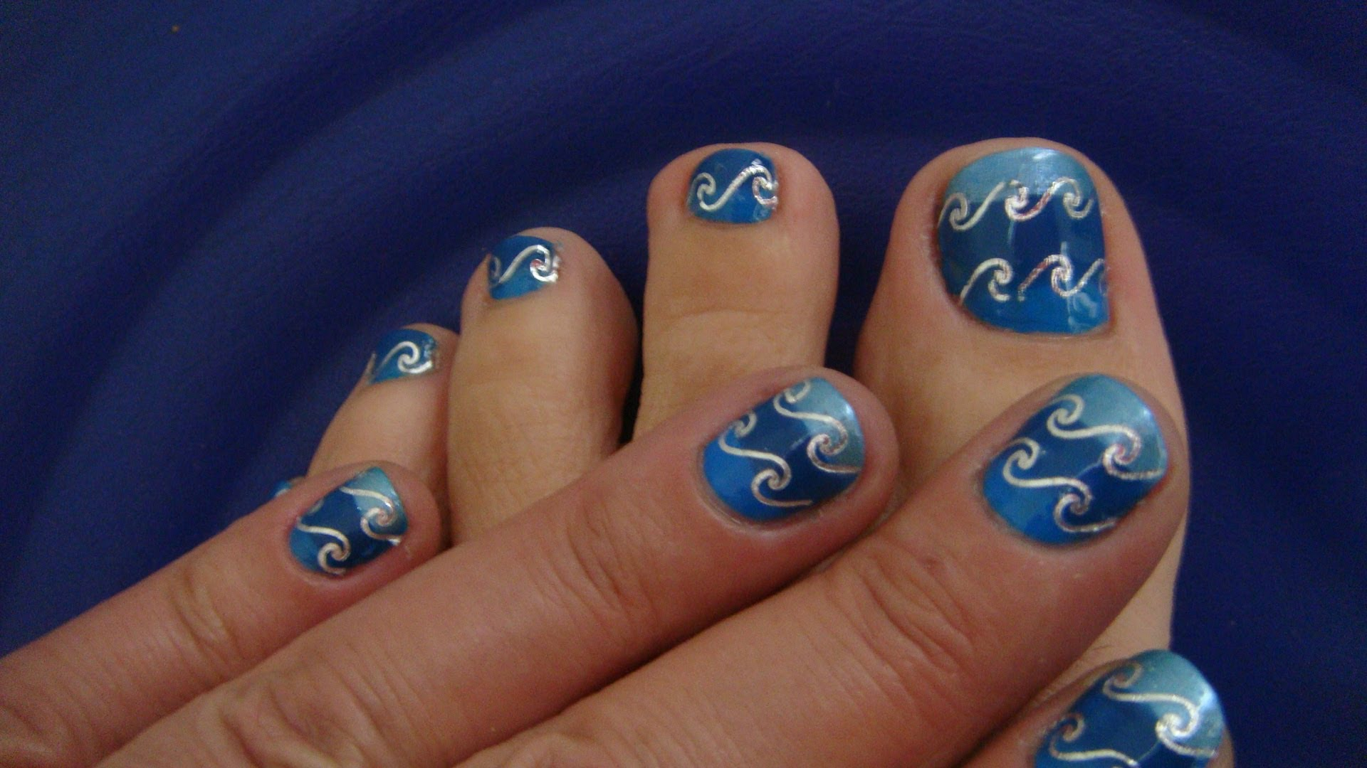 19 Ocean Toe Nail Designs Images - Toe Nail Designs with Jewels, Toe ...