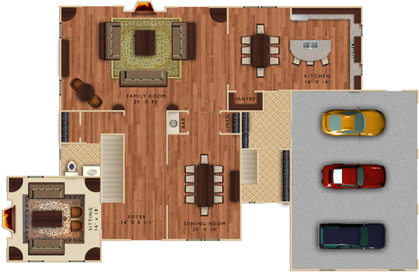 Photoshop Floor Plan Furniture