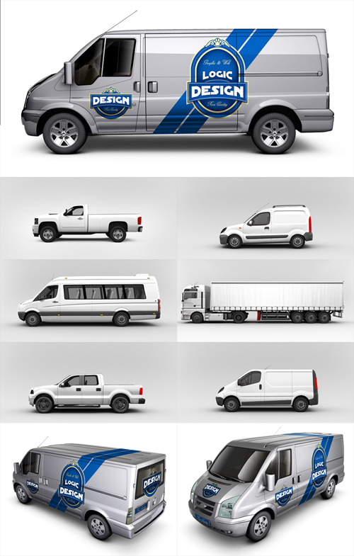 truck wrap templates - 10 van mockup psd free images photoshop psd free