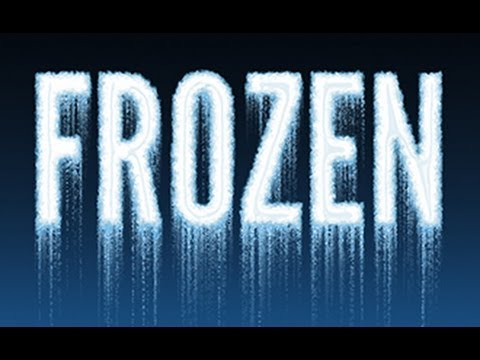 Photoshop Text How to Make with Frozen