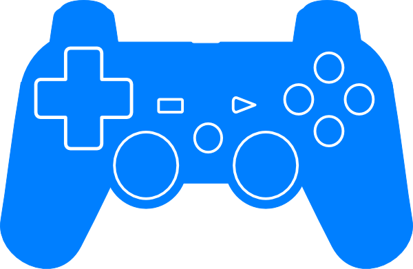PS4 Game Controller Silhouette