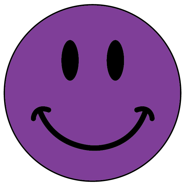 17 Purple Smiley Emoticon Images